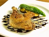 鴨のモモ肉のコンフィ