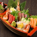 料理メニュー写真造り7種盛り合わせ【極】