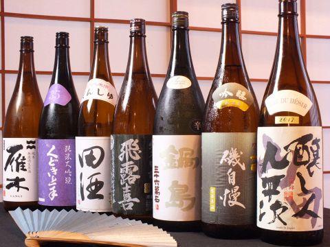 利酒師のいる当店で、海鮮料理と日本酒とのマリアージュを楽しんでください。