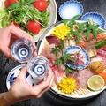 料理メニュー写真【鮮度抜群】本日のおまかせお刺身三点盛り