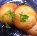 料理メニュー写真カマンベールポテトもち