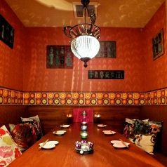 大人気の8名様対応の完全個室
