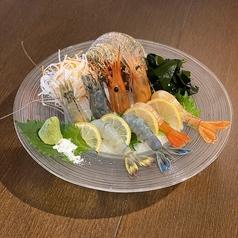 【世界のえび刺し】新鮮えびのお刺身 4種食べ比べ