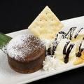料理メニュー写真とろ~りチョコのフォンダンショコラ~アイス添え~