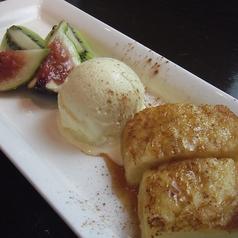 フレンチトースト/りんごのキャラメルゼ