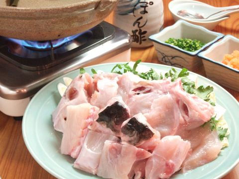 お好きなものをお好きなだけ!!老舗、三浦屋がこだわる新鮮なふぐ料理をご堪能あれ。