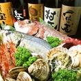 瀬戸内・播州灘などの新鮮魚介を使用。豪華鮮魚造り盛りコースで愉しめる他、単品料理も♪