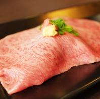 焼肉屋の本気の肉寿司