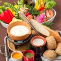 料理メニュー写真囲-KAKOI- 伝統のチーズフォンデュ&バケット
