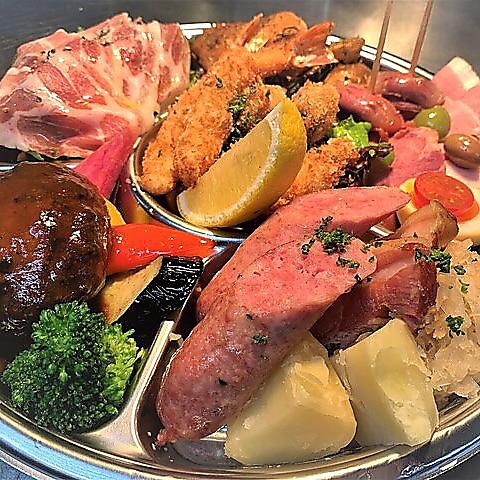 【テイクアウト◎】パーティーオードブル(2〜3名様用)※前菜+肉料理【5400円】