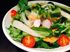 8)有機野菜のサラダ