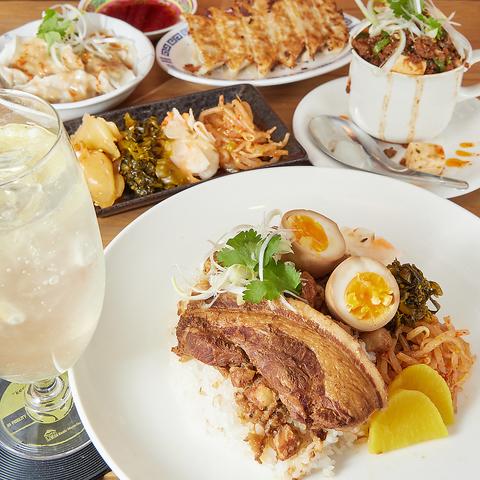 【駅チカ】あびこ駅徒歩5分の中華や台湾料理、洋食など各国料理が楽しめるお店♪