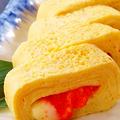 料理メニュー写真博多明太子とチーズだし巻き卵