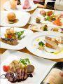 料理メニュー写真ディナー:コース料理(5500円税別)