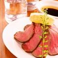 お肉料理も多数♪低価格で気軽にお楽しみいただけます!