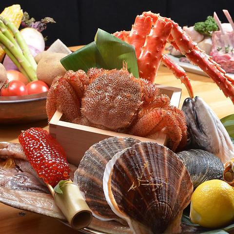 歓送迎会・宴会はお任せを。蟹や海鮮そして食飲放題で丸海屋は幹事様を応援します!