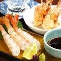 料理メニュー写真赤海老造り
