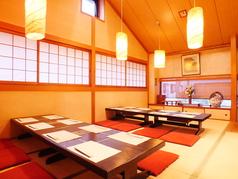 2階の大座敷。会社での宴会、歓送迎会や忘年会、新年会、各種宴会利用に最適です。