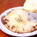 料理メニュー写真チーズナン S
