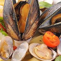 アマルフィ海岸名物魚介料理
