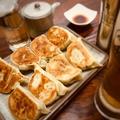 料理メニュー写真手作り本格モツ餃子5個 《焼き》