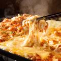 料理メニュー写真薩摩地鶏のチーズタッカルビ