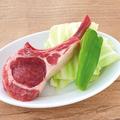 料理メニュー写真名物NZ産 ラムチョップ
