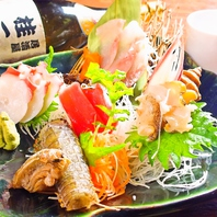 新鮮な鮮魚は、その日の最高のものをご用意!