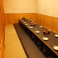 15名様~掘りごたつ席は、個室として利用できます