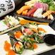 酢飯の上に好きなものを好きなだけ!手巻き寿司居酒屋♪
