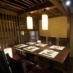 《完全個室完備》テーブルタイプの個室は2名様~6名様までご利用可能です!【広島 袋町 完全個室 居酒屋】宴会 歓送迎会など各種飲み会におすすめです◎