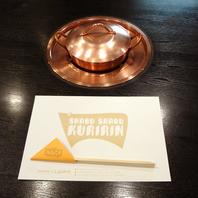 武蔵小杉で唯一の特注の鍋用の五徳付テーブル席!