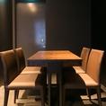 接待などビジネスシーンの食事会に最適な個室