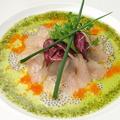 料理メニュー写真小田原産鮮魚のカルパッチョ