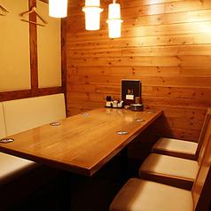 雰囲気の良いお部屋は女性のお客様に大人気