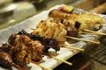 料理メニュー写真串焼8本盛り