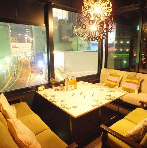 【3F】大小様々な個室をご用意★女子会・誕生日会・大人合コン・少人数での飲み会に♪
