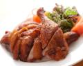 料理メニュー写真燻製鶏の油揚げ(2~3人前)