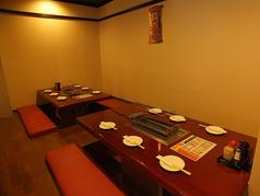 【ゆったり広々堀コタツ♪♪】2席合わせると最大15名様が座れる半個室タイプの堀コタツ!!