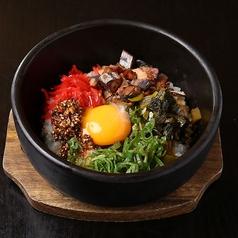 料理メニュー写真【九州食材】屋久島 ごまさば節と宮崎高菜の石焼飯