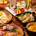 料理メニュー写真浜松町店オリジナルの創作バル料理をご賞味あれ!大人の隠れ家空間で味わう絶品料理