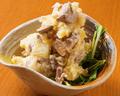 料理メニュー写真まぐろしぐれのポテトサラダ