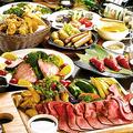 料理メニュー写真[*燻煙コース4]燻製肉ラクレットチーズ含む8品5480円/3980円