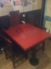 1~2名席のテーブルです。