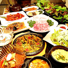 ヒョンブ食堂 赤坂 兄夫食堂のコース写真
