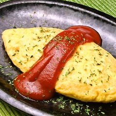 チーズのオムレツ