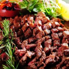 料理メニュー写真厚切り牛タンステーキ200g