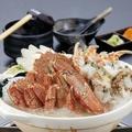 料理メニュー写真ダブルカニ鍋(味噌)