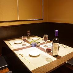 地鶏 博多もつ鍋 しまや 京都西院店の雰囲気1