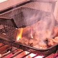料理メニュー写真土佐の地鶏 もも炭火焼